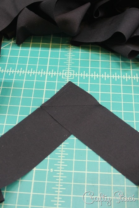 Stitching strips for bias tape