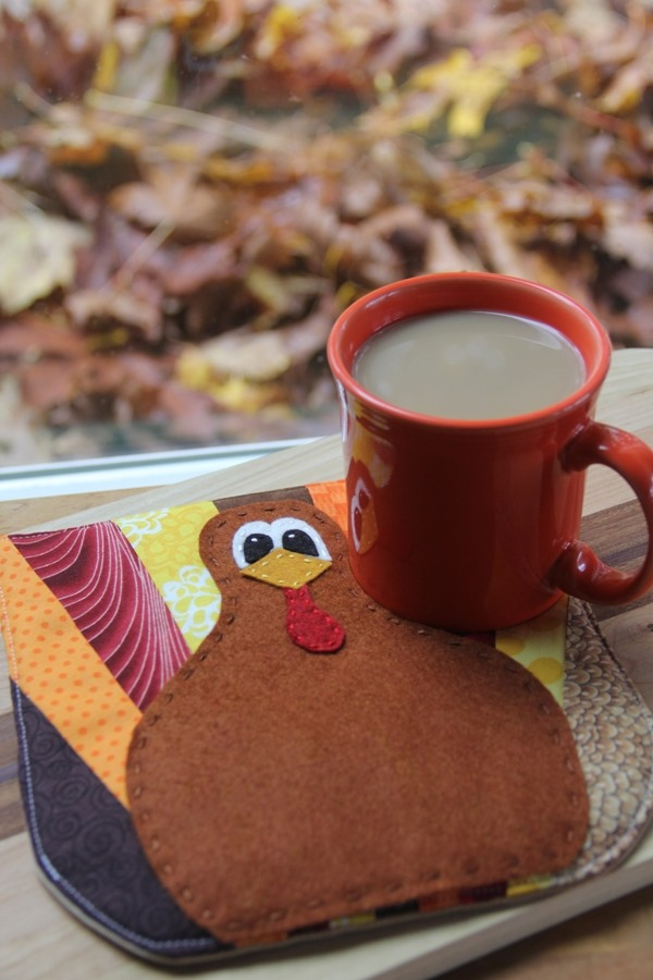 Turkey Hot Pad of the Month - Crafty Staci