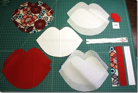 Pieces for Kiss Bag - Crafty Staci