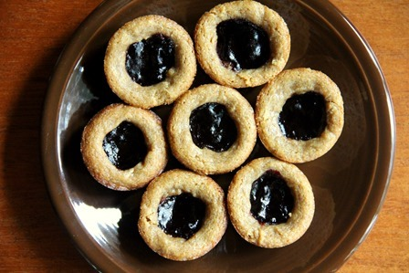 Peanut Butter and Jelly Gluten Free Cookies
