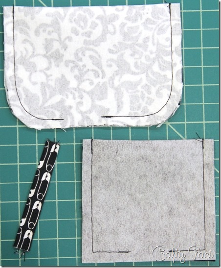 Flap and pocket for Craft Show Vendor Apron