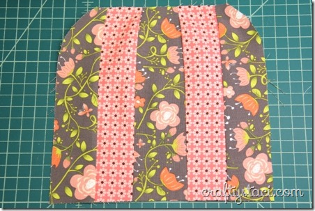 Paper pieced umbrella hot pad