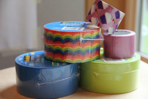 Duct Tape Picnic Table Cloth - Crafty Staci 2