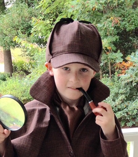 Sherlock Holmes Costume from Playing with Scissors