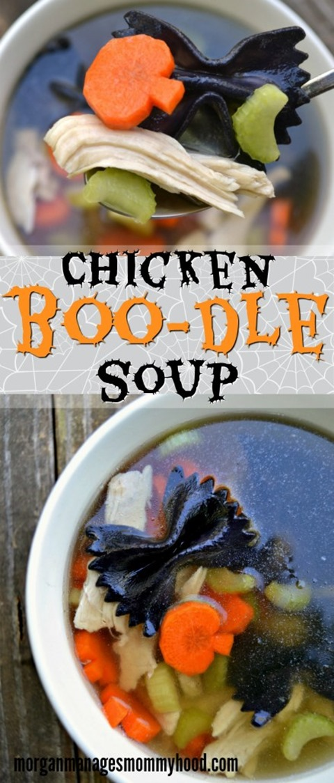 Chicken Boo-dle Soup from Morgan Manages Mommyhood