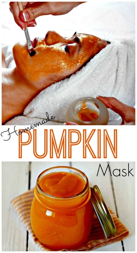 Homemade Pumpkin Mask from Primally Inspired