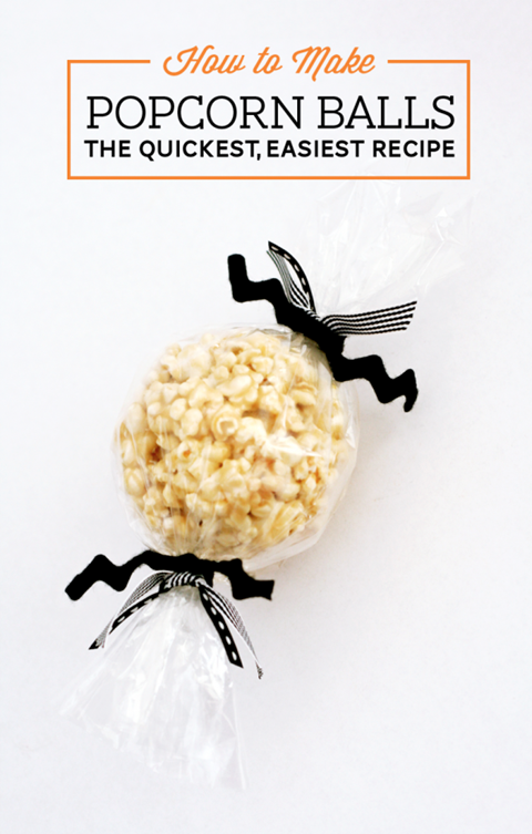 Popcorn Balls from Paging Supermom