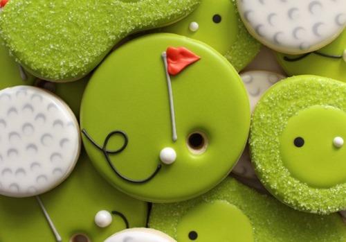Golf Cookies from Sweet Sugarbelle