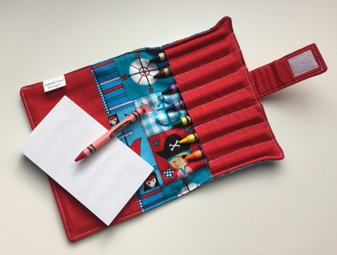 Pirate Crayon Wallet from ArtisticsoulDesigns