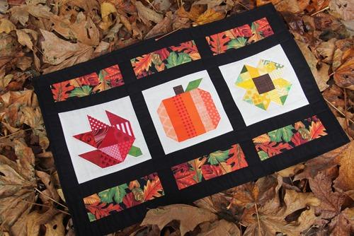 Autumn Bounty Challenge Quilt on Crafty Staci