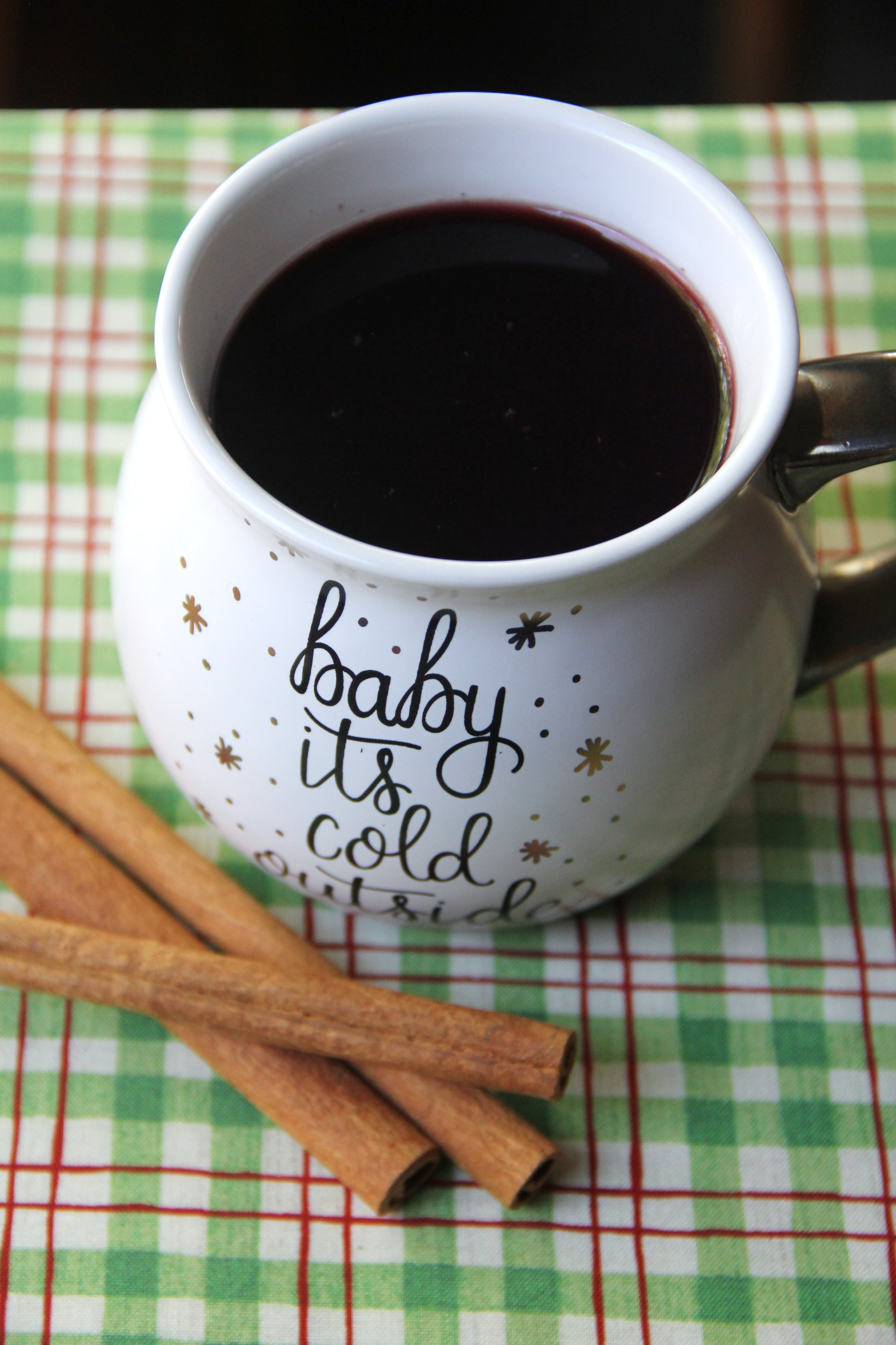 Hot Blackberry Apple Cider from Crafty Staci