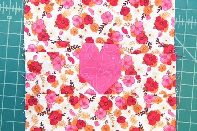 Heart pieced together