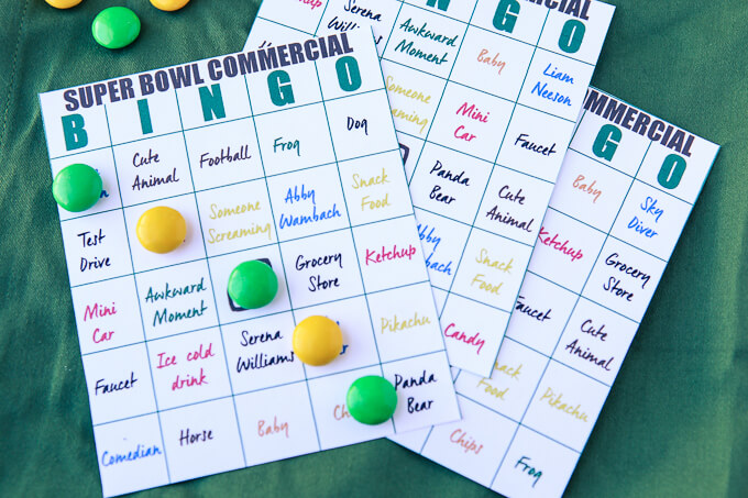 Super Bowl Bingo Cards from Play Party Plan.jpg