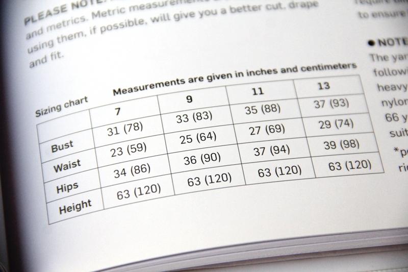 Stylish Wraps - size chart