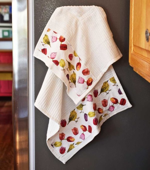 Magnetic Dish Towels from Pam Ash Designs