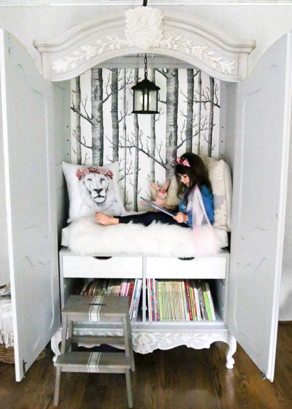 DIY Narnia Wardrobe Reading Nook from Blesser House.jpg