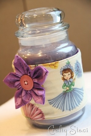 Candle Jar Cozy - Crafty Staci 1