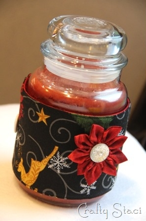 Candle Jar Cozy - Crafty Staci 10