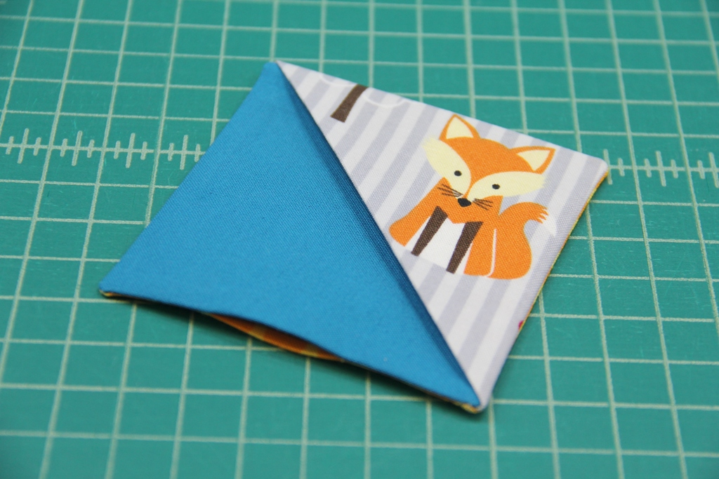 Quick Fabric Corner Bookmarks - Crafty Staci 8
