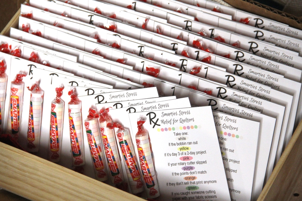 Box of Smarties Stress Relief for Quilters