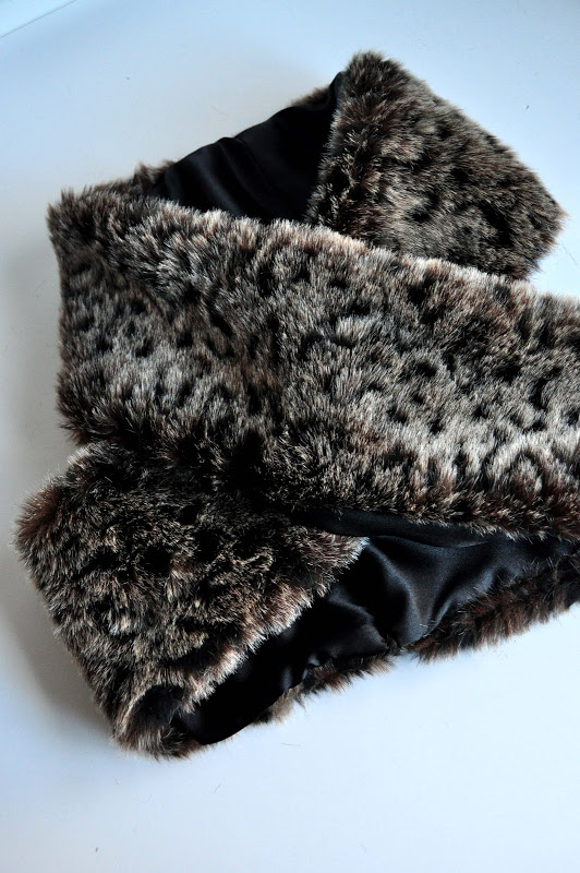 Faux Fur Infinity Scarf from Aesthetic Nest