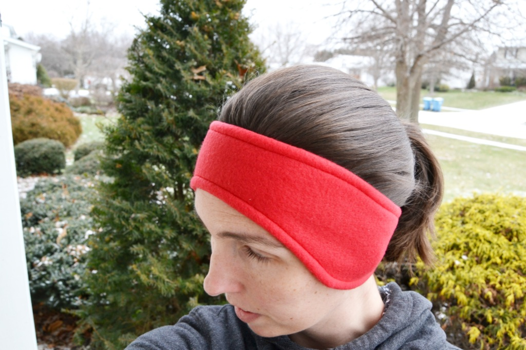 Fleece Ear Warmer Headband from Mary Martha Mama