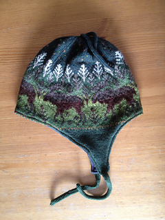 Moose Camouflage Hat from Dawn Kinsey on Ravelry