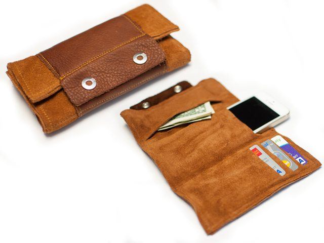 Leather Wrap Wallet from eHow