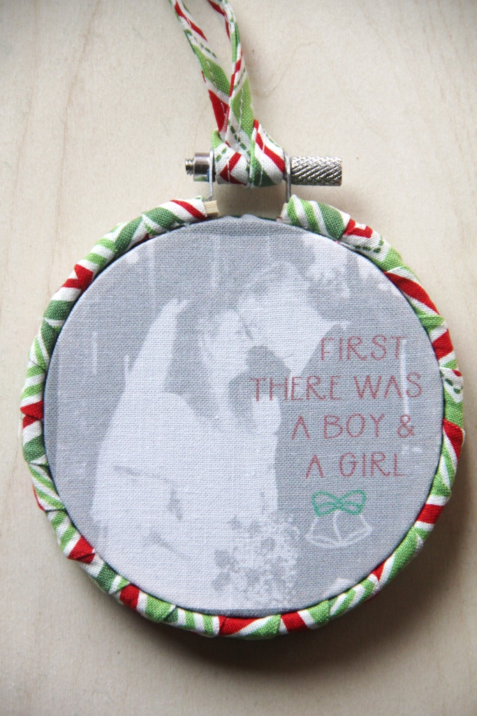 First there was a boy and a girl