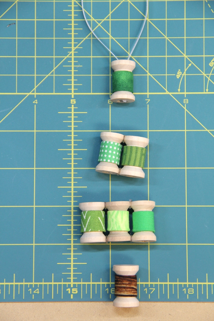 Gluing rows together