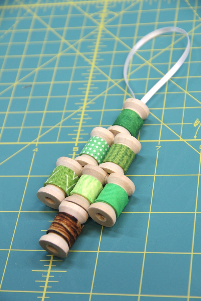 Rows glued together