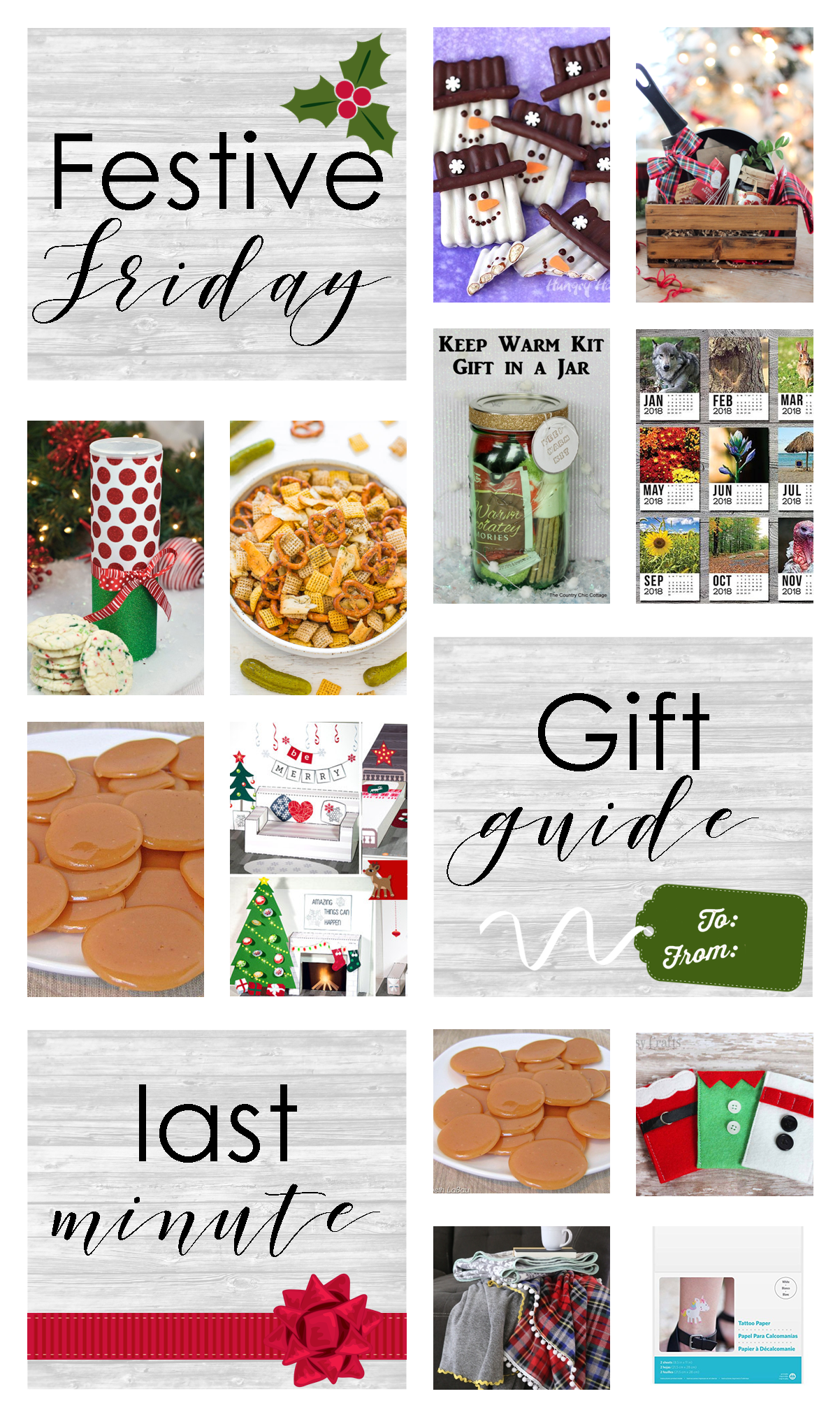 Festive Friday - Last Minute Gift Guide