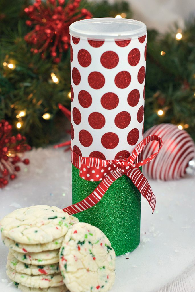 Christmas Cookie Containers from Fun Squared