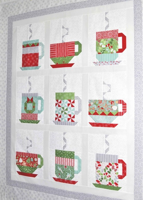 In From the Cold Quilt Pattern from Quilting Digest