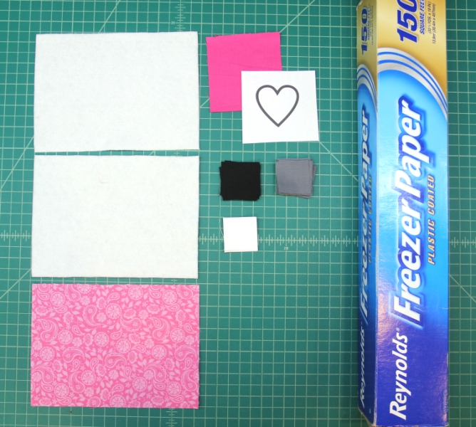 Supplies for mug mat