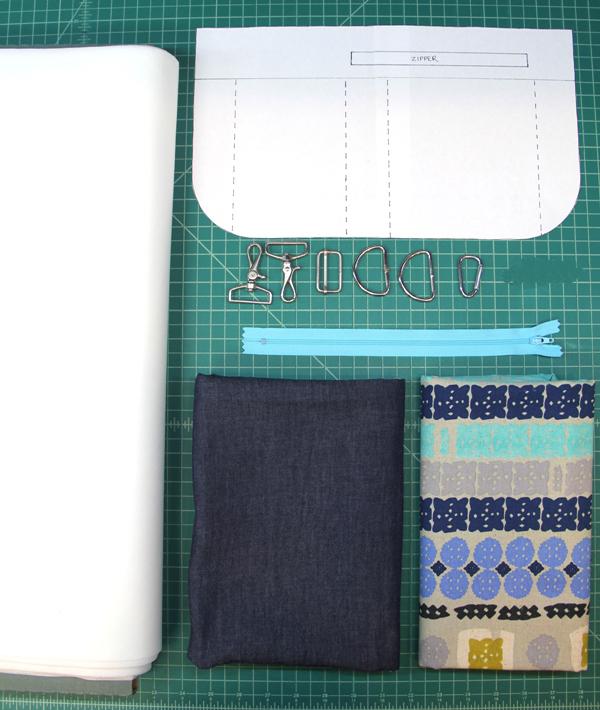 Supplies to make tablet bag