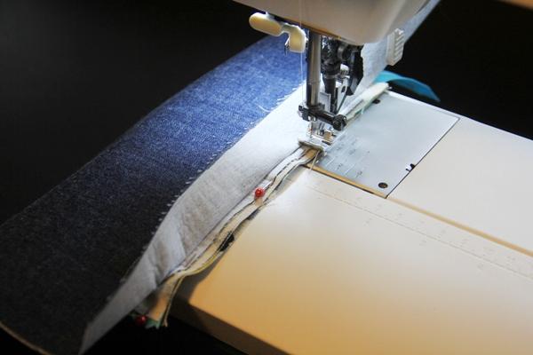 Sewing inner pocket