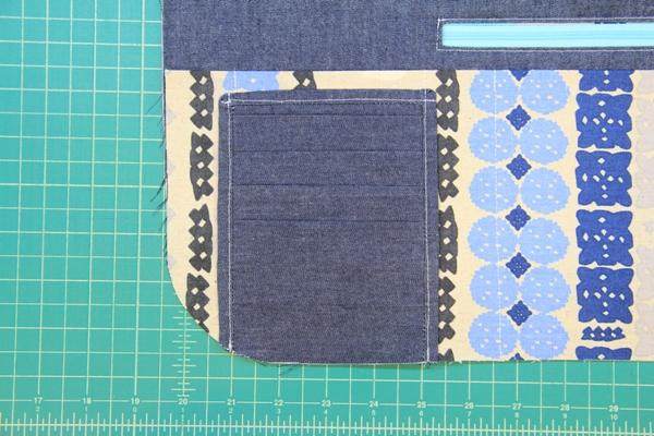 Stitch card pocket