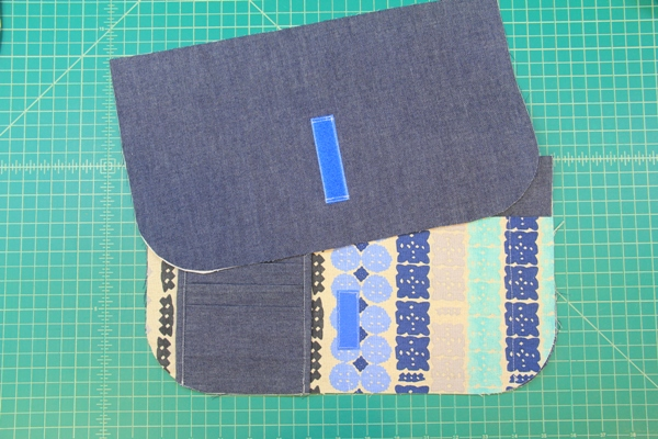 Sewing on Velcro