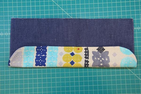 Fold flap over Velcro