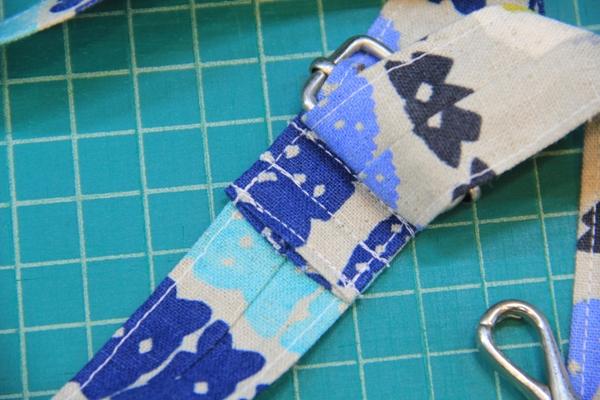 Stitch near slider