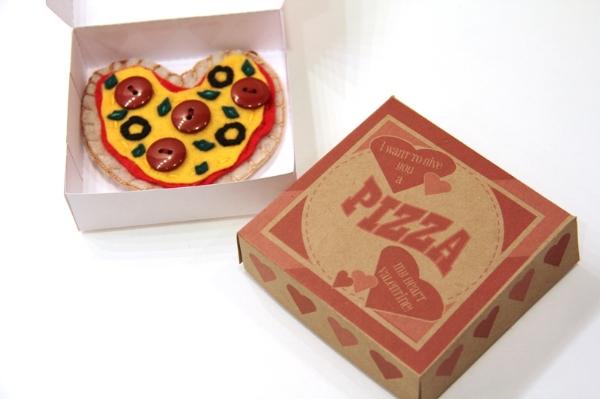 Pizza Box Valentine 1