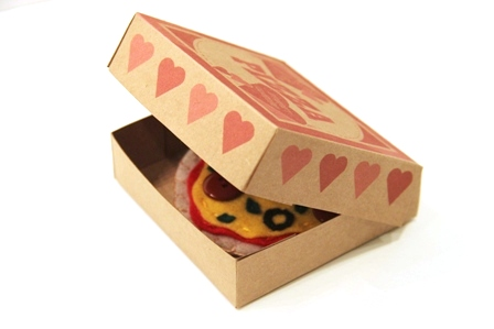 Pizza Box Valentine 14