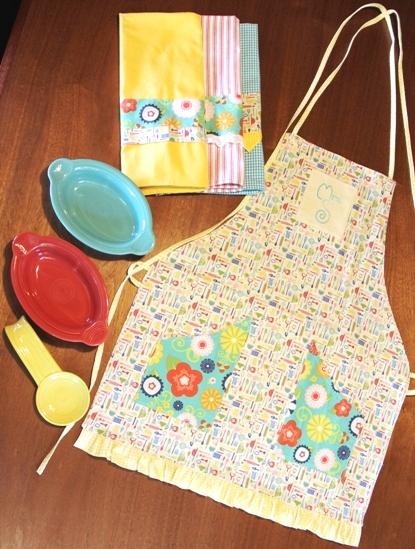 Embellished Kitchen Towels - Crafty Staci 2