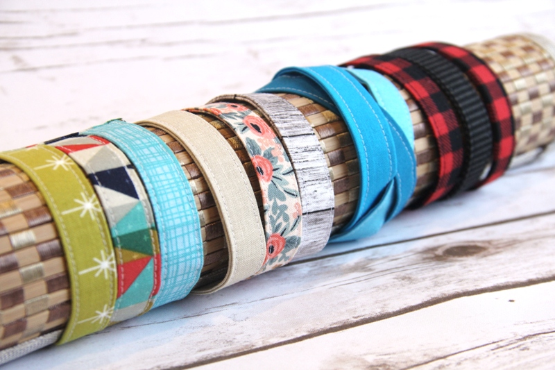 Fabric Cuff Bracelets from craftystaci.com