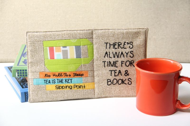 There's Always Time for Tea and Books Mug Mat from craftystaci.com