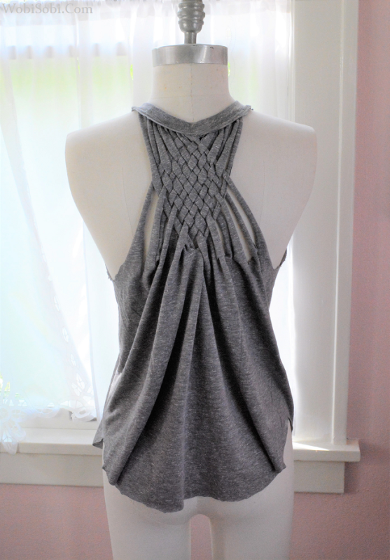 Weaved Back Tank from WobiSobi