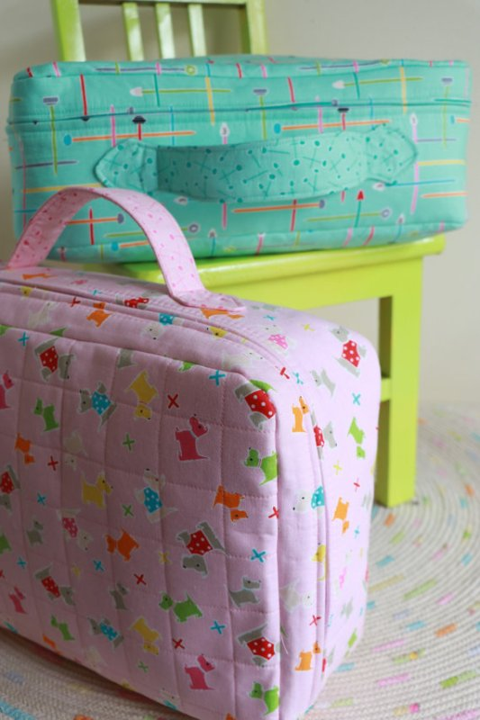 Small World Suitcase Pattern from ricracsews