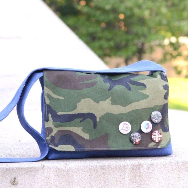 Campus Messenger Bag from Orange Bettie