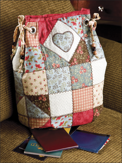 Patchwork Backpack from Annie's ($)